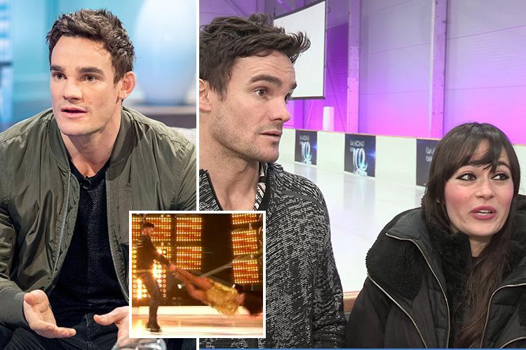 Max Evans will attempt the dreaded headbanger for the first time in Dancing on Ice final