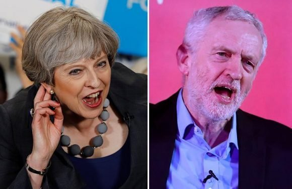 Theresa May and Jeremy Corbyn handed Facebook and Google MILLIONS despite clampdown promise