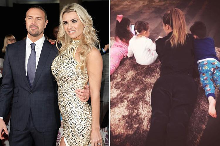 Paddy McGuinness pays tribute to wife Christine McGuinness on Mother's Day after Nicole Appleton drama