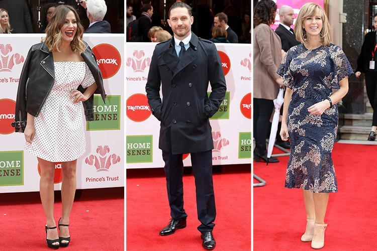 Caroline Flack, Mel C and Kate Garraway are royally glam at the star-studded Prince's Trust Awards
