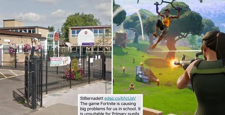 banning on fortnite