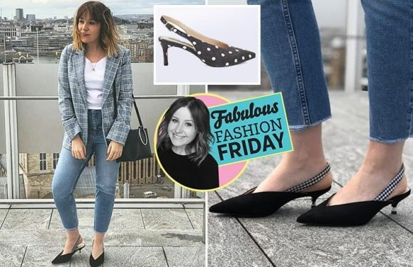 Kitten heels, break-up wardrobes and New Look steals… Fabulous Daily editor Joely Chilcott reveals what she is loving this week in our new Fashion Friday column