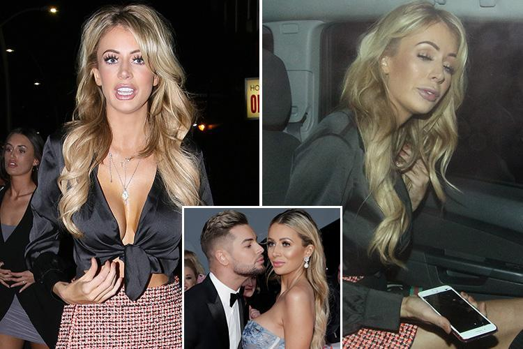 Olivia Attwood hits the town as pals slam reports her split from Chris Hughes 'was a publicity stunt'