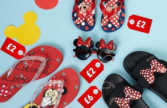 Primark is now selling £2 Minnie Mouse flip flops so mums and daughters can match… and there's some cute PJs on offer too