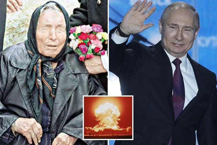 Psychic Baba Vanga who predicted 9/11 terror attacks also foretold 'unstoppable' Vladimir Putin will one day rule Earth
