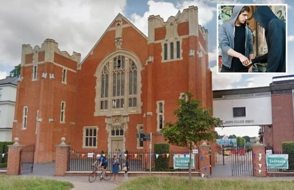 Headmaster of Britain's top public school costing £20,000-a-year warns parents over 'rising tide' of drugs faces their kids