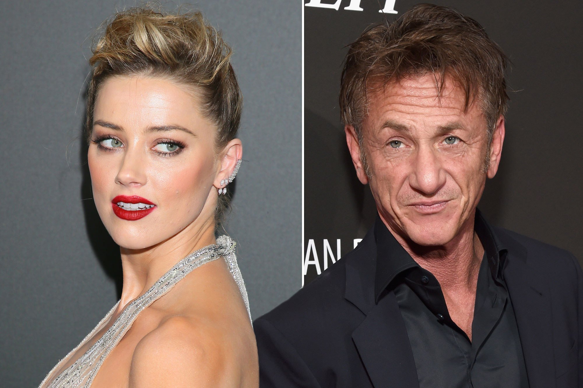 Amber Heard spotted on romantic date with Sean Penn