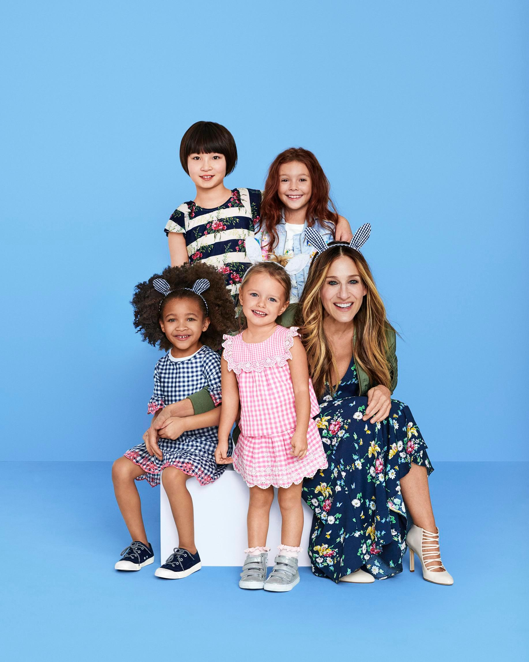Sarah Jessica Parker and GAP launch an exclusive spring-themed kidswear collection with prices starting from £10.95