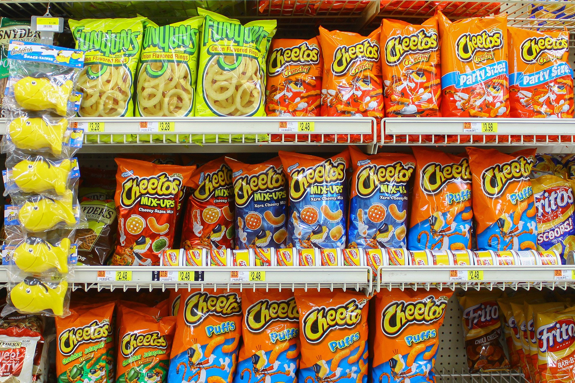 There is a massive Frito-Lay shortage in NYC bodegas