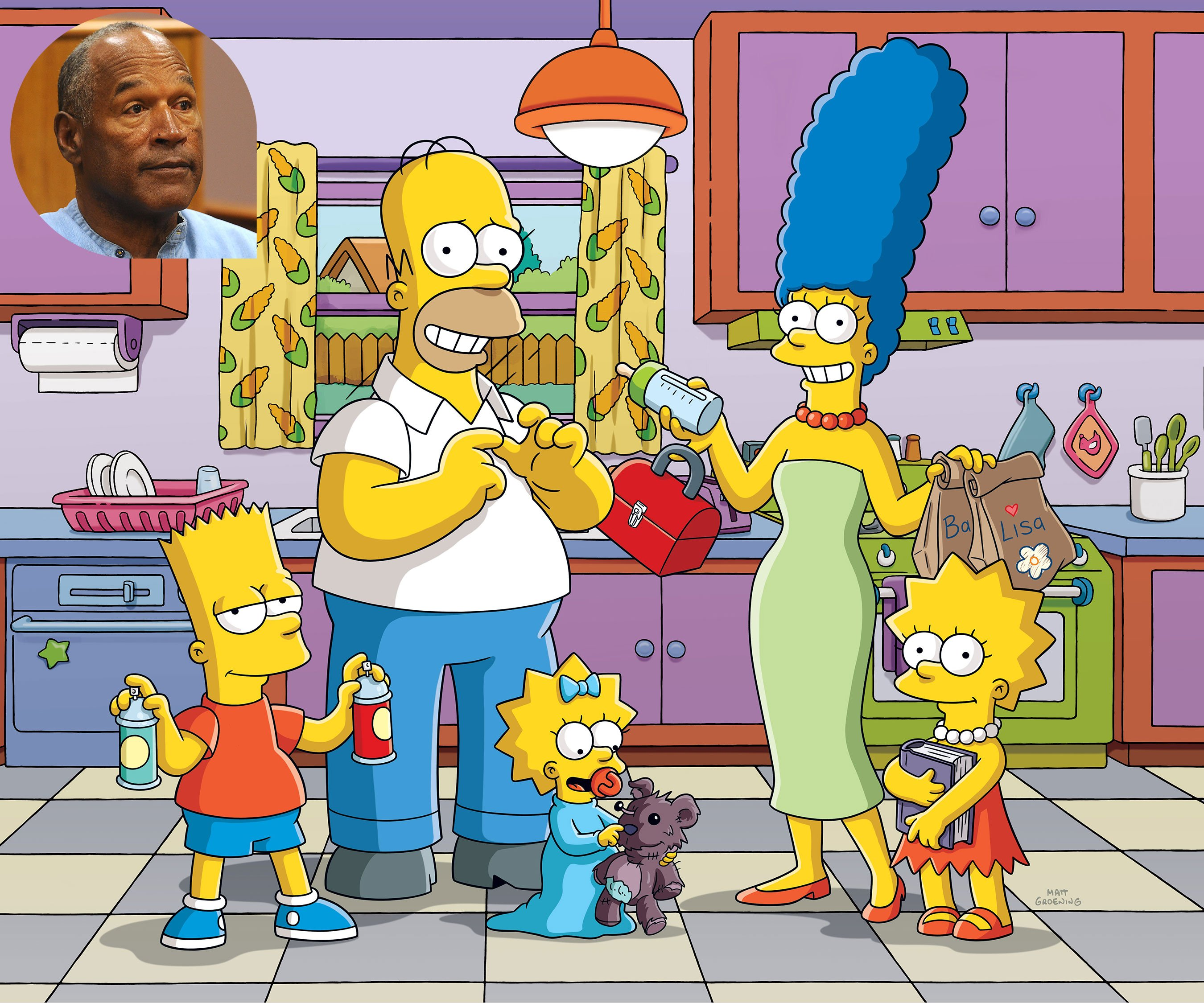 The Simpsons: OJ Simpson turned down role in Last Exit to Springfield