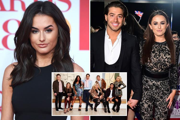 Amber Davies being lined up for Celebs Go Dating after split from fellow Love Island 2017 winner Kem Cetinay