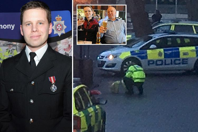 Brave police officer left seriously ill after helping poisoned ex-Russian spy Sergei Skripal and his daughter Yulia named as Sergeant Nick Bailey