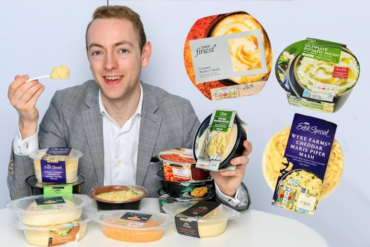 We test Britain's supermarket ready-made mashed potatoes to see which comes out on top
