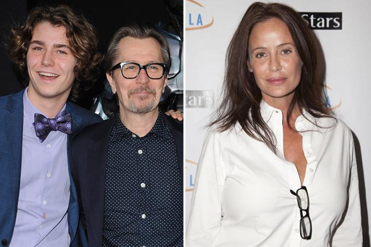 Gary Oldman's son Gulliver defends star against 'troubling and painful' claims of domestic abuse by ex-wife Donya Fiorentino