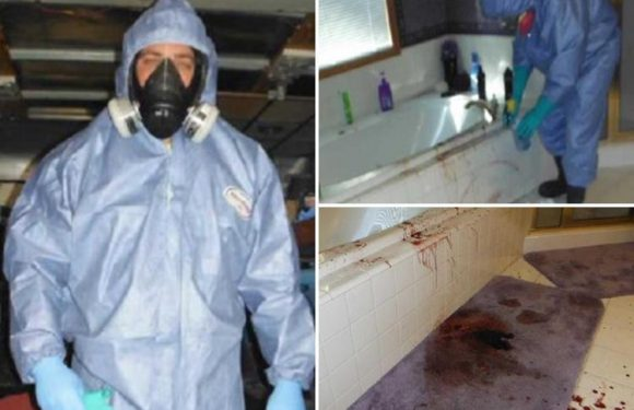 Inside the very gory world of 'trauma cleaners'… the poor souls cops call to clean up the grisliest murder and suicide scenes in history