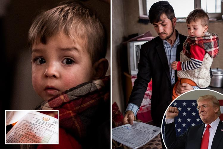Afghan boy is bizarrely named 'Donald Trump' by his superfan parents… and now they say their life has been ruined