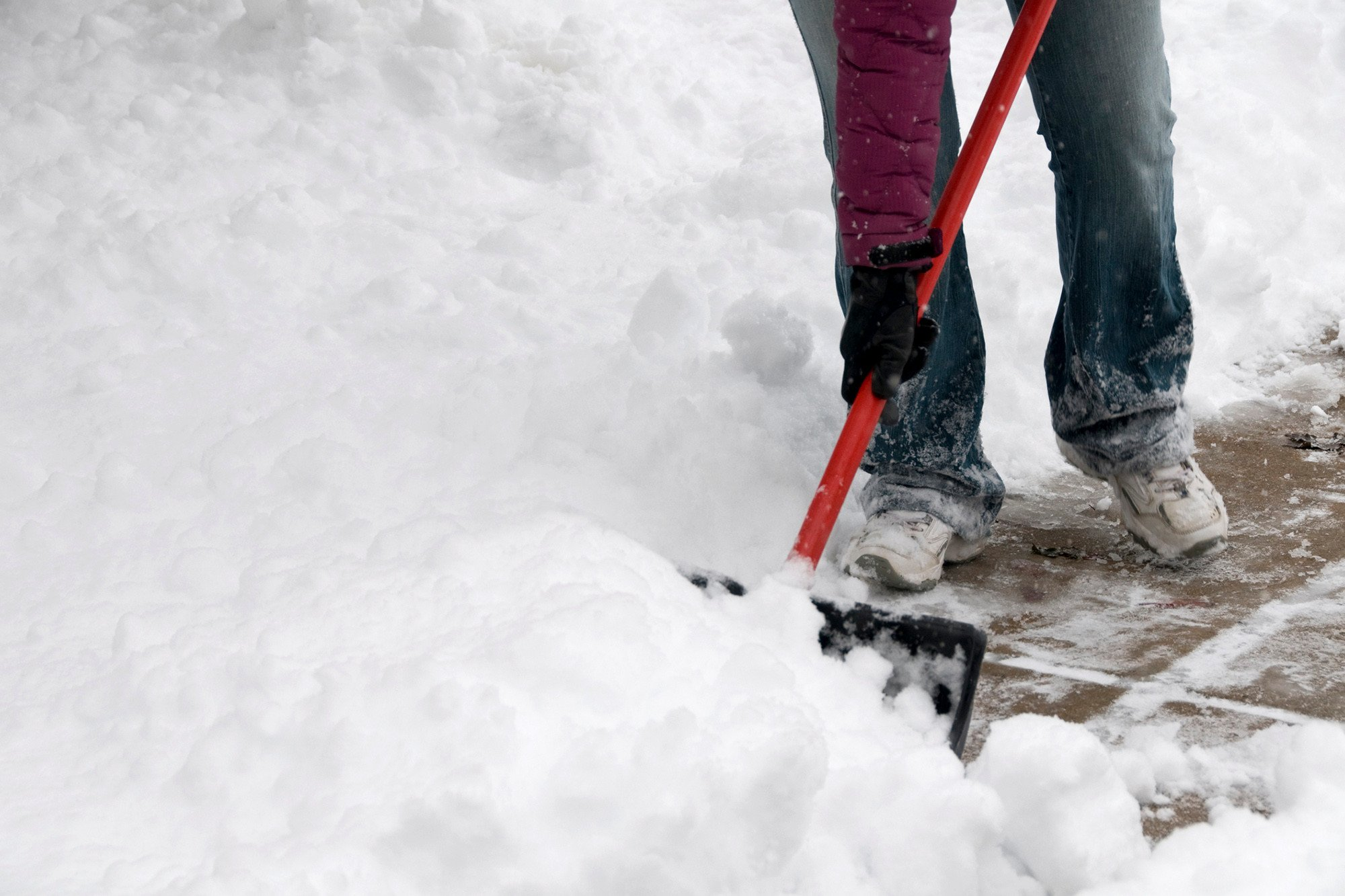 Woman shoveling snow fatally run over by husband