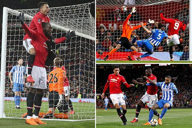 Man Utd vs Brighton LIVE SCORE: Latest updates from FA Cup quarter-final clash