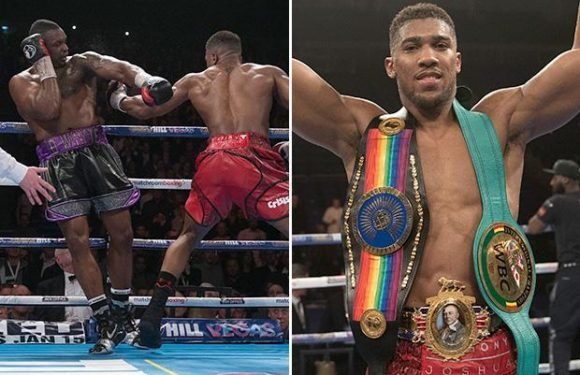 Anthony Joshua paid his tax bill with his first Dillian Whyte windfall… and dined out on the second