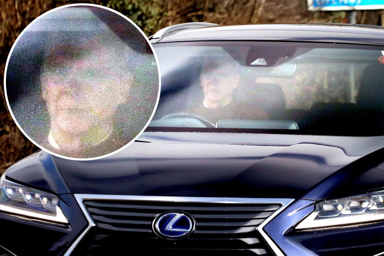 Arsene Wenger arrives at Arsenal training looking glum as he nears exit following Brighton defeat