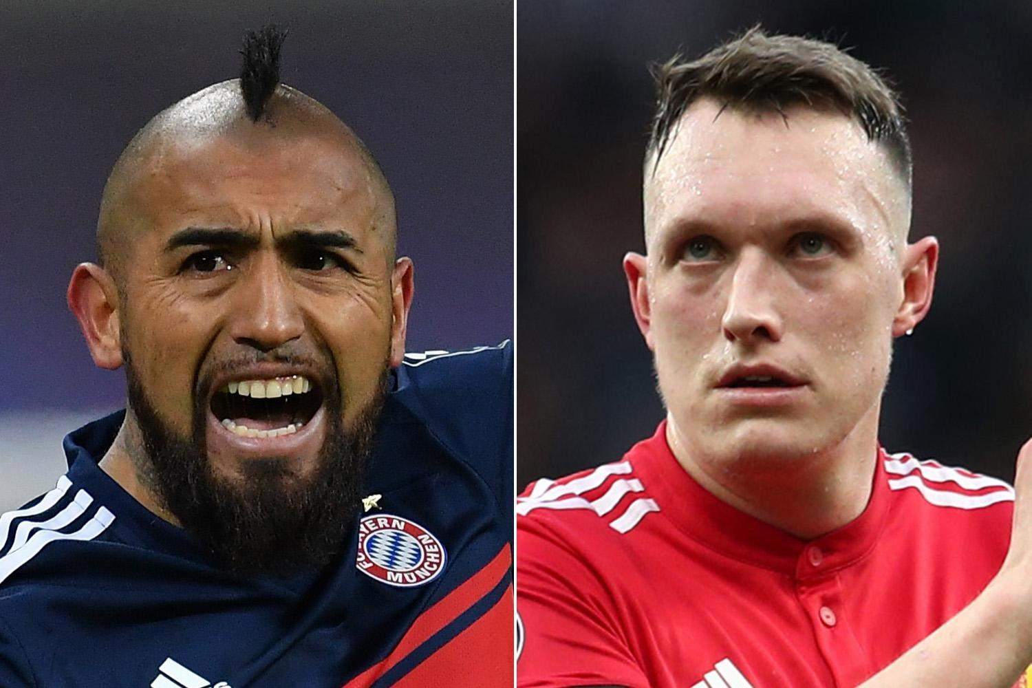 Chelsea, Crystal Palace, Everton and Huddersfield… the players who should be bought this summer including Arturo Vidal and Phil Jones