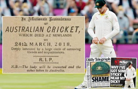 Australia in mourning as nation calls for captain Steve Smith to be sacked over ball-tampering shame