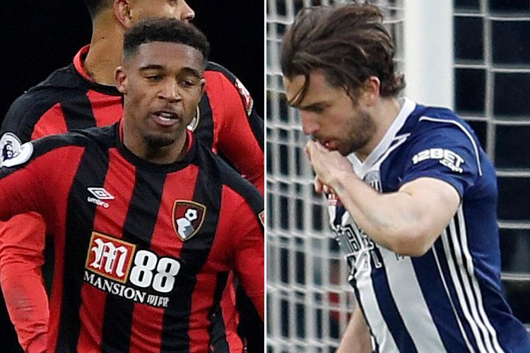 Bournemouth 1 West Brom 1: Baggies surrender another lead as relegation looms