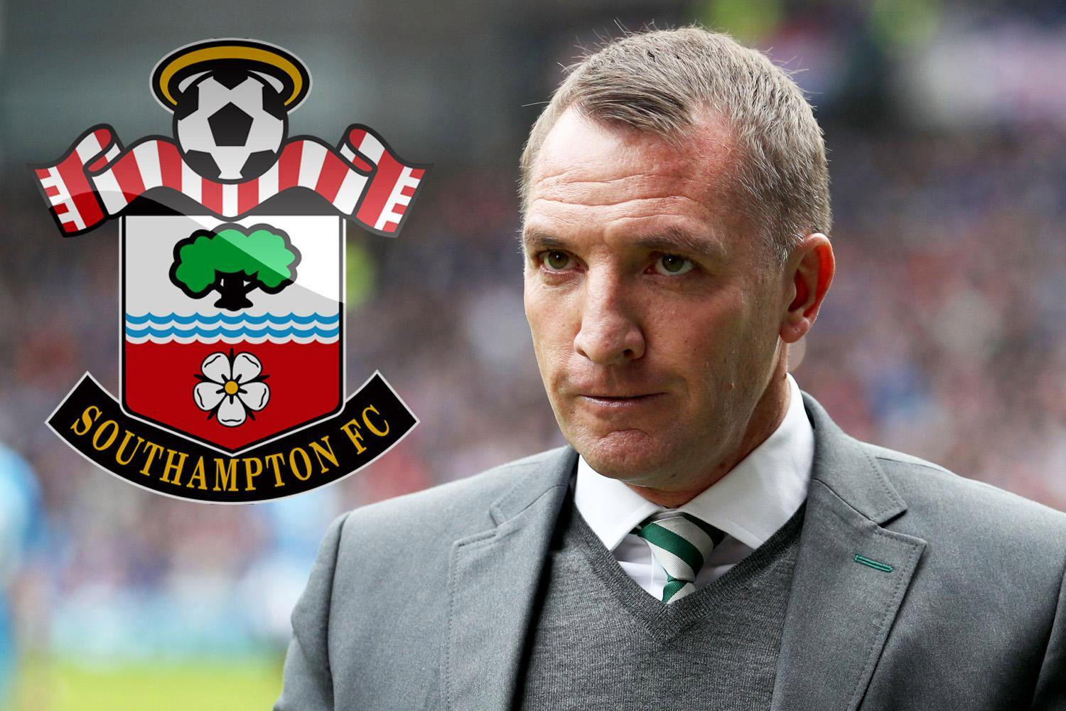 Southampton eye Brendan Rodgers as Celtic manager is put high up on list of potential bosses to replace sacked Mauricio Pellegrino