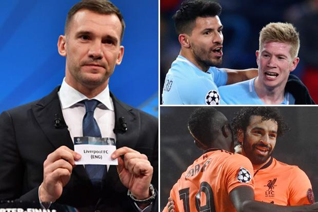 Champions League draw: Liverpool and Man City face each other in mouth-watering quarter-final clash of Premier League giants