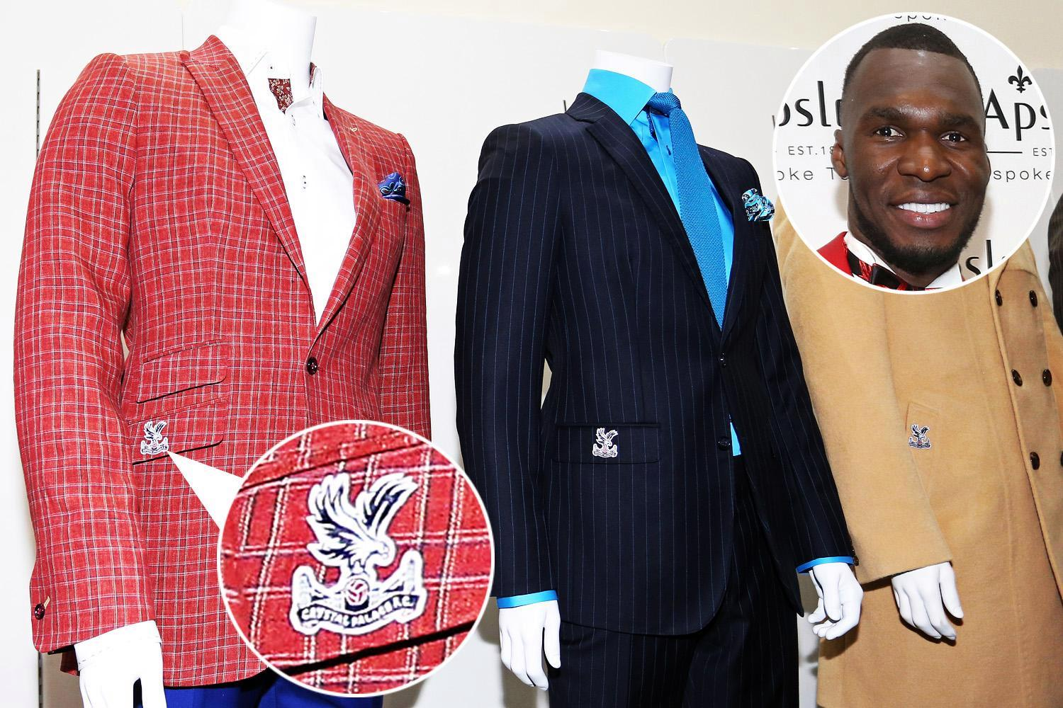 Christian Benteke insists Crystal Palace will beat drop as he launches bespoke suit collection