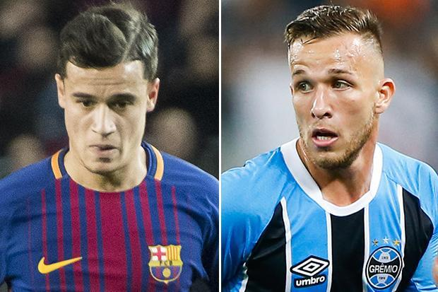 Barcelona signing Arthur reveals Philippe Coutinho and Paulinho advised him to make move to Catalonia