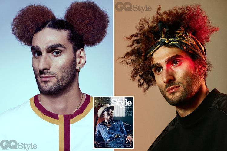Marouane Fellaini is no Mickey Mouse footballer as Manchester United star poses for GQ magazine shoot