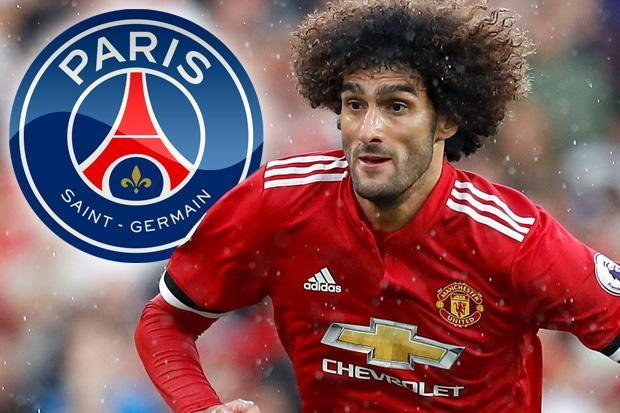 PSG ready Marouane Fellaini contract with Manchester United midfielder 'set for four-year deal worth £5.4m annually AFTER tax'