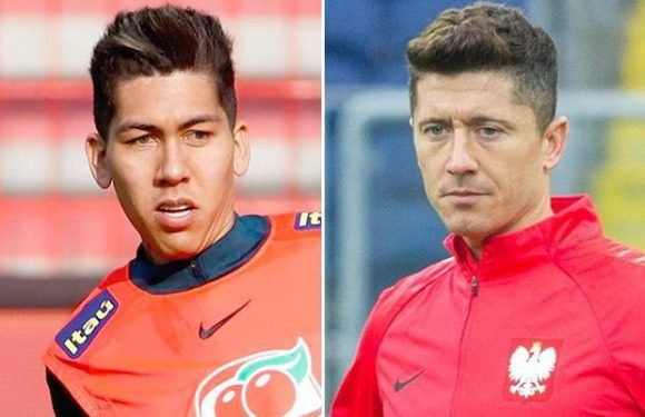 Liverpool braced for fight to keep hold of Roberto Firmino… but all hinges on Robert Lewandowski