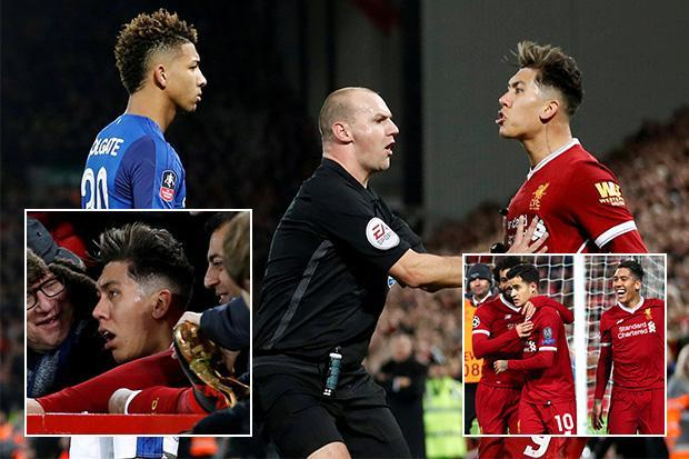 Liverpool striker Roberto Firmino opens up over Mason Holgate racism row for first time