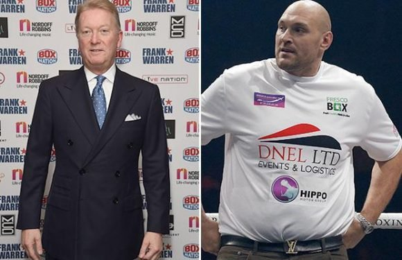 Tyson Fury signs deal with promoter Frank Warren as ex-champ nears return to ring