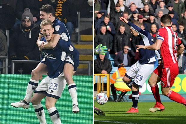 Millwall star George Saville bags first-minute goal for second time in four days