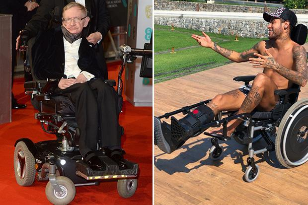 Neymar's Stephen Hawking tribute causes outrage as PSG superstar is slammed for social media post