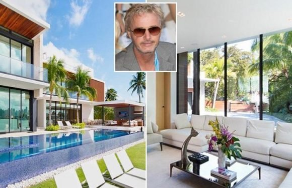 F1 hero Eddie Irvine puts Miami Beach mansion up for sale for £20.8m including chef's kitchen, butler's pantry, cinema and lift