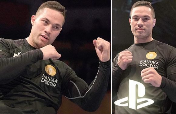 Joseph Parker preparing for Anthony Joshua fight with card games and PlayStation