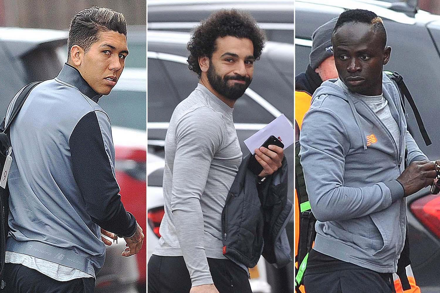 Liverpool set to start Mo Salah, Sadio Mane and Roberto Firmino against Porto in the Champions League… despite already leading 5-0 from the first-leg
