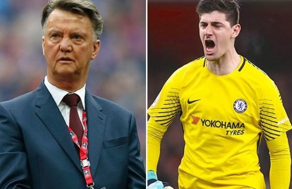 Chelsea star Thibaut Courtois slams ex-Manchester United boss Louis van Gaal after Dutchman's comments about his mistake against Barcelona's Lionel Messi