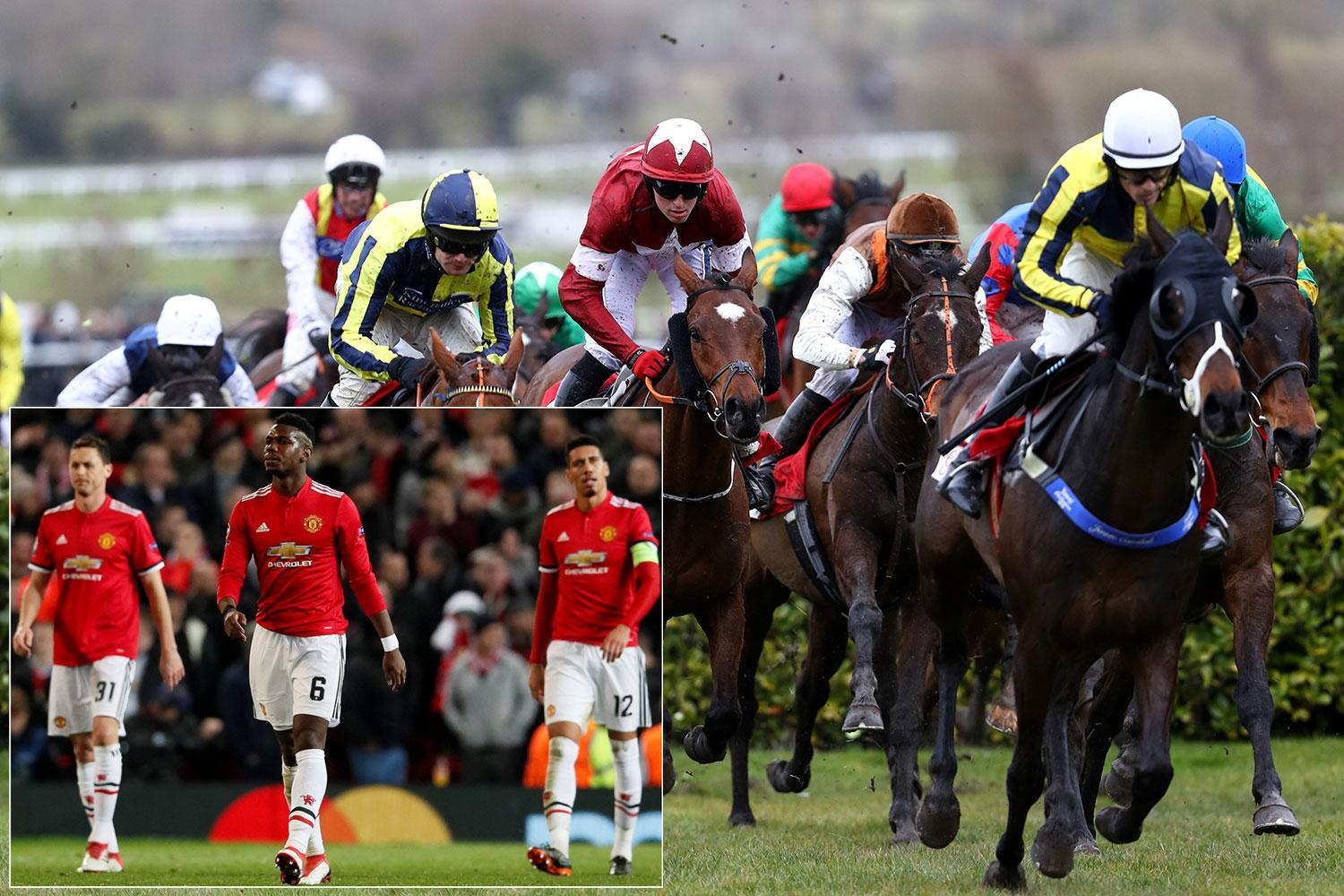 Manchester United flops cancel Cheltenham race day after dismal Sevilla defeat dumped them out of Champions League