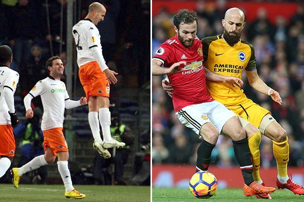 Brighton star Bruno has sights set on knocking close friend Juan Mata out of the FA Cup