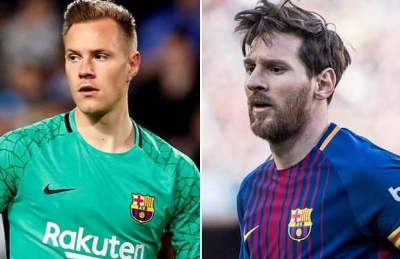 Barcelona stars Lionel Messi and Marc-Andre ter Stegen could miss Sevilla clash with injury