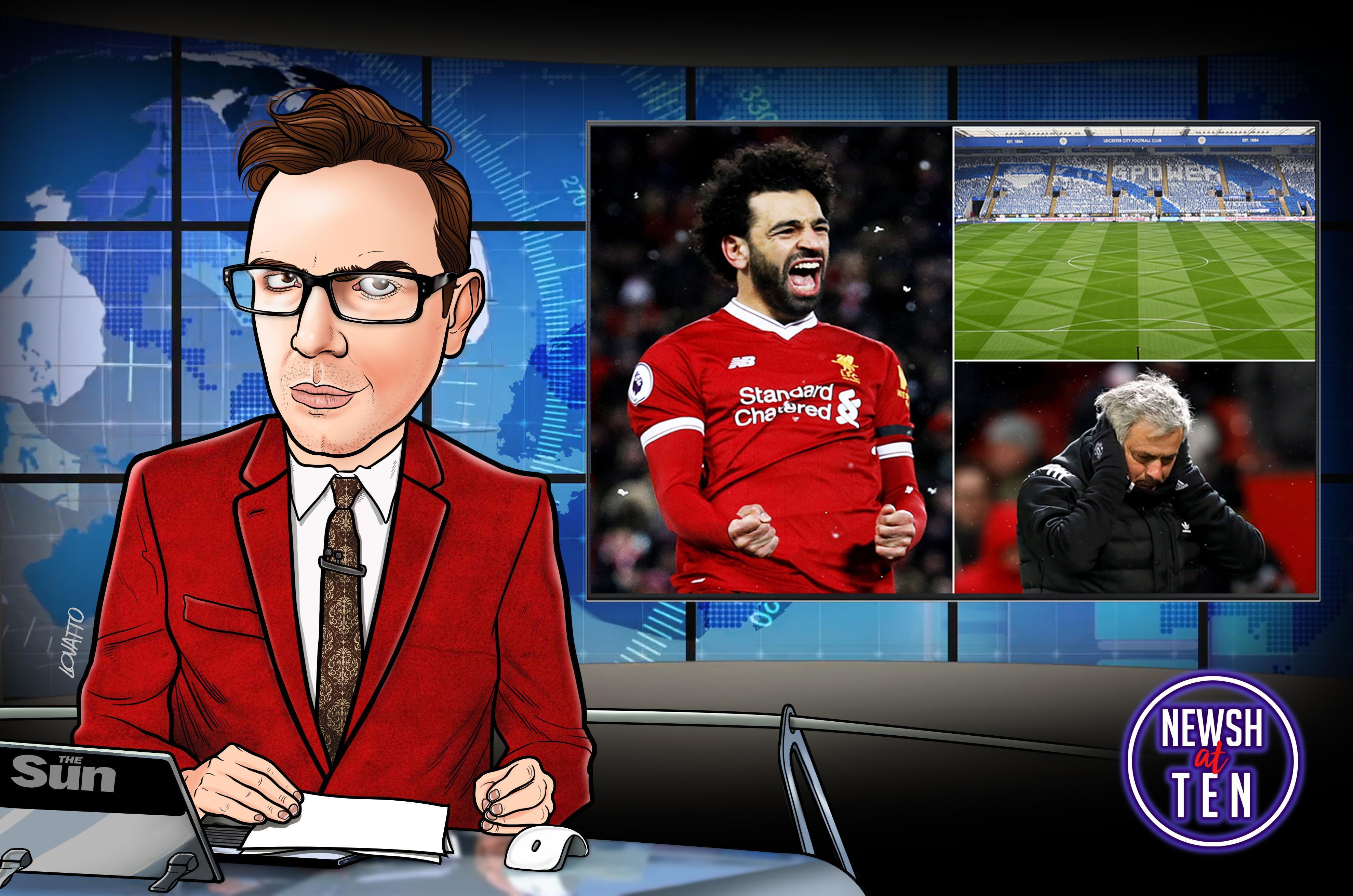 Manchester United library, Mo Salah the miracle man and life's a pitch at Leicester: Premier League weekend exposed