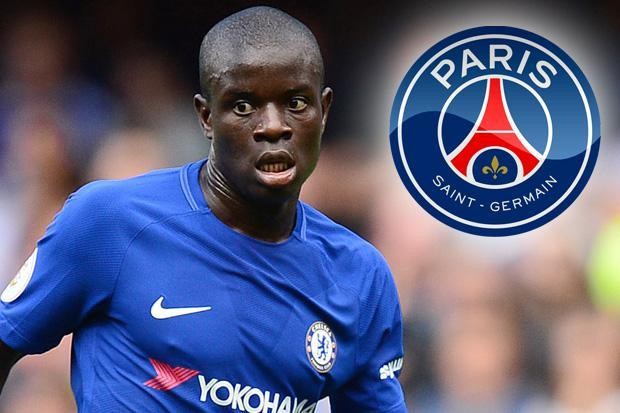 PSG reportedly make Chelsea ace N'Golo Kante their top transfer target at the end of the season