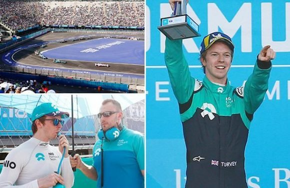 Meet Formula E star Oliver Turvey who combined racing with studying at Cambridge and now test drives for Fernando Alonso's McLaren