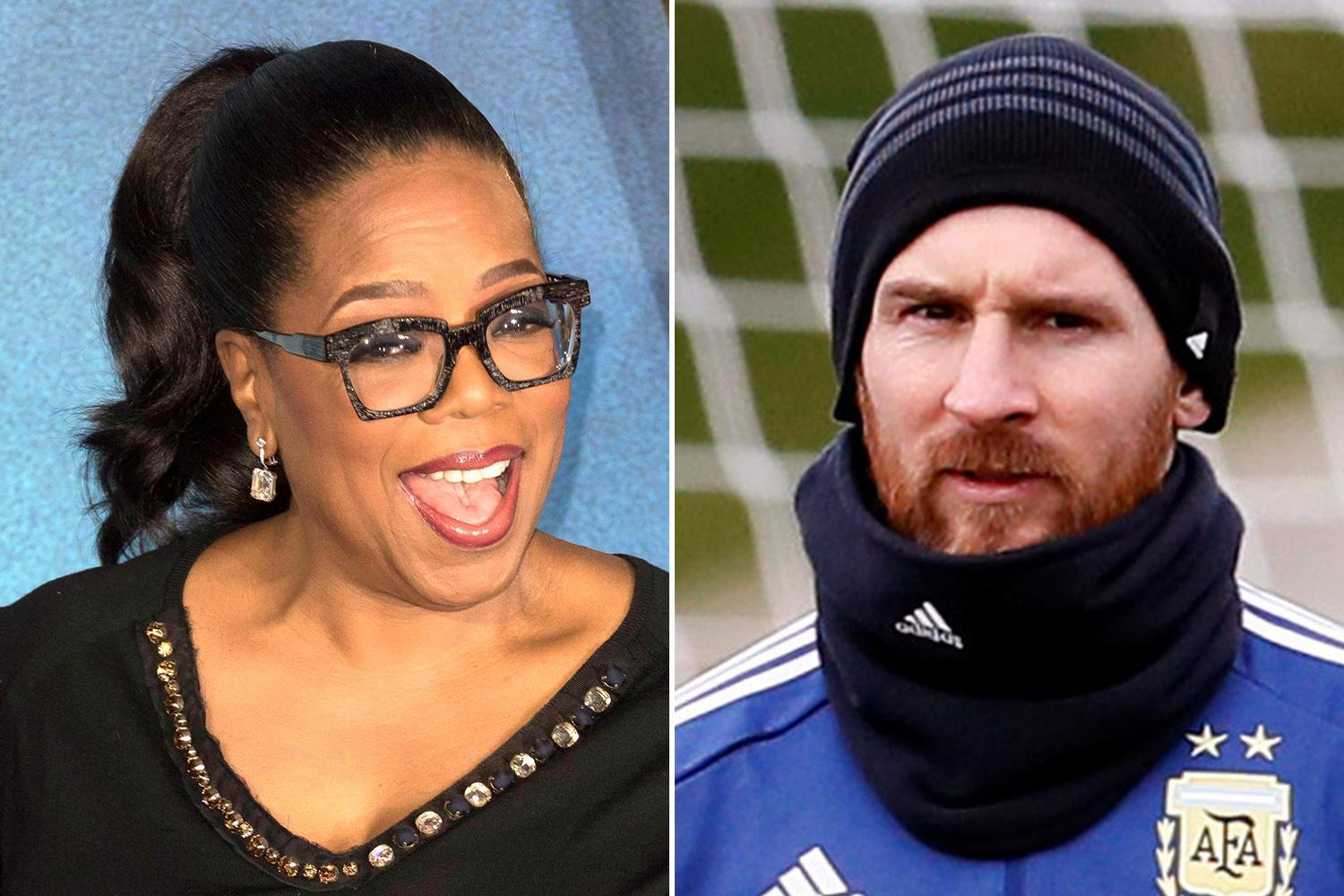 Oprah Winfrey gives advice to Lionel Messi ahead of World Cup 2018