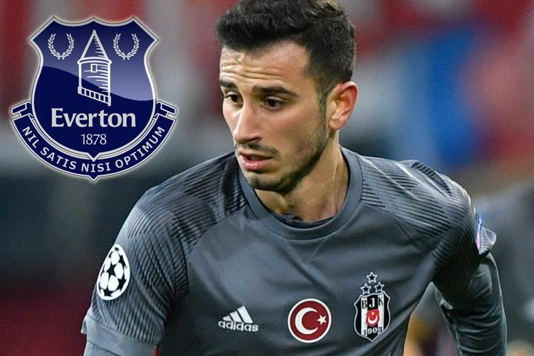 Everton line up move for Besiktas star Oguzhan Ozyakup should they fail to sign Arsenal ace Jack Wilshere